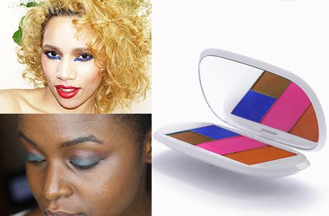iris paris et son tuto maquillage inspir du printemps. Black Bedroom Furniture Sets. Home Design Ideas