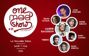 [ONE MAD SHOW] Verino, Fadily Camara & cie sur scène le 7 mai !
