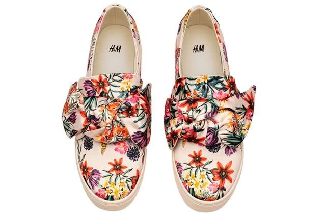 baskets fleuries h&m