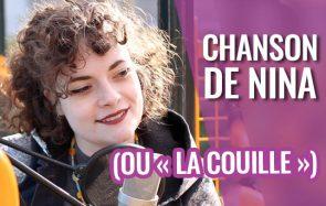 Charlie présente « La chanson de Nina» (titre alternatif : «LA COUILLE»)