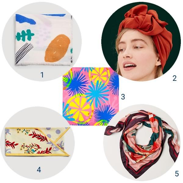 Différents foulards à nouer sur ta tête pour parfaire ton style 8fffd808e0f