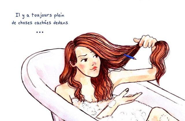 Les galères de cheveux longs illustrées