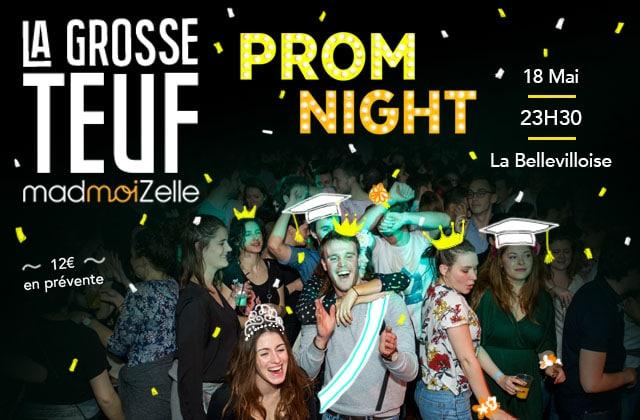 CE SOIR Viens fêter la fin des exams à la Grosse Teuf Prom Night à la Bellevilloise