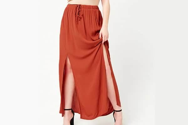 longue jupe forever 21 grandes tailles