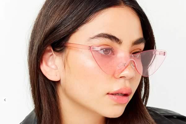 lunettes plastique rose forever 21
