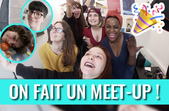MEET-UP : le YouTube Squad de madmoiZelle te donne rdv à Paris le 14 avril !