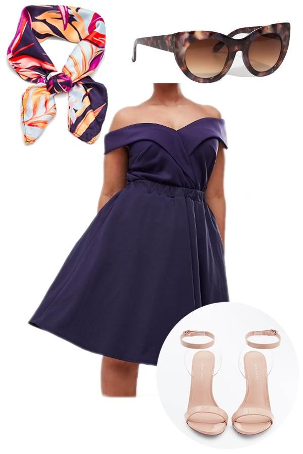 robe de soiree ASOS curve