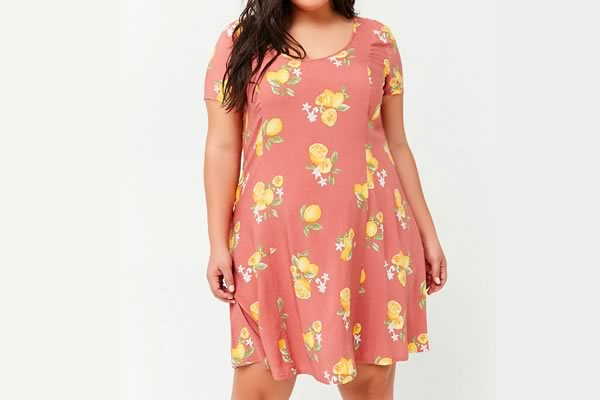 robe forever 21 curve citrons