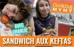 La recette du sandwich keftas et tomate par Charlie&Mymy