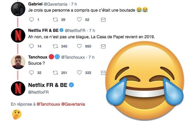 La mystérieuse nouvelle «bio» du compte Twitter Netflix France: un nouveau mème est né