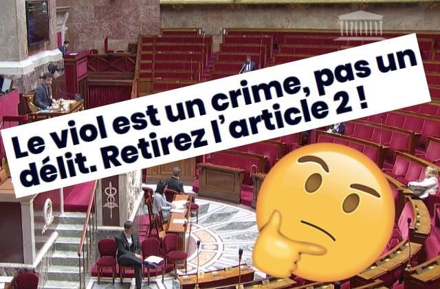 Pourquoi l'article 2, visé par la pétition #LeViolEstUnCrime, fait-il débat?