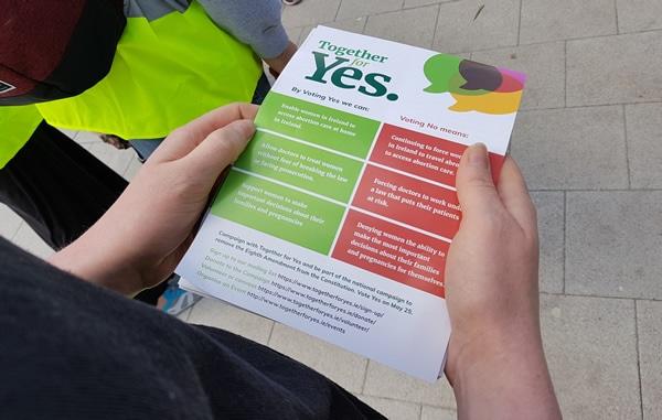 irlande avortement referendum tract