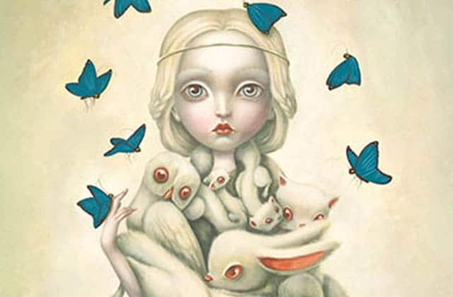 Benjamin Lacombe sort son premier Art-book, et il est sublime !