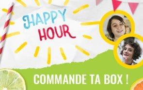 La box madmoiZelle «Happy Hour» par Charlie & Mymy, pour des apéros de folie!