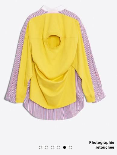 chemise pull balenciaga