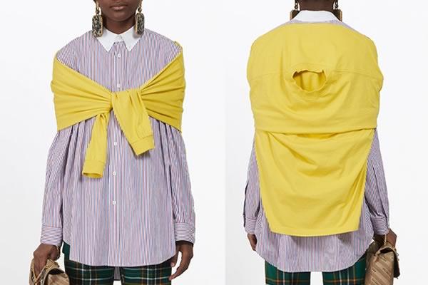 Chemise tshirt femme balenciaga