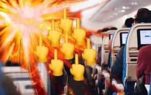 Les comportements INSUPPORTABLES des gens dans l'avion