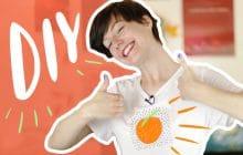 DIY:personnalise un t-shirt avec ton kif du moment!