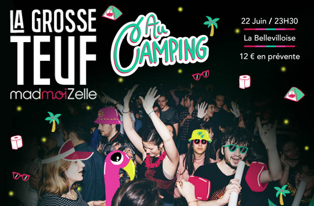 Grosse Teuf au Camping