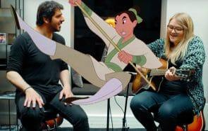 Lola Dubini chante Comme un homme en duo avec Patrick Fiori et la jalousie est palpable