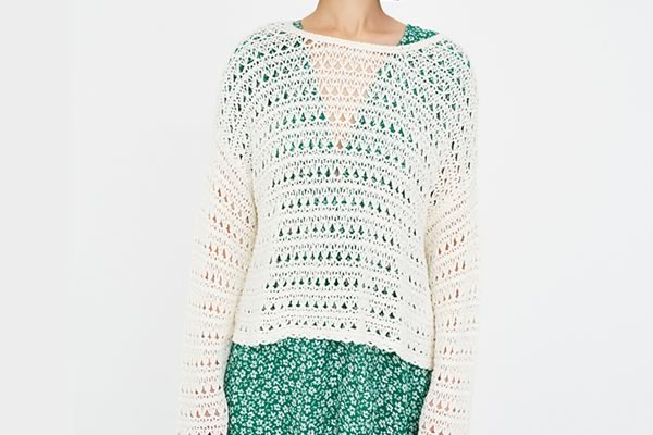 pull crochet pull and bear