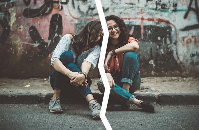 rompre avec un ami