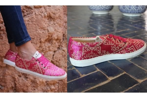 amaz sneakers maroc terz fuchsia