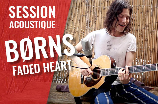 BØRNS chante Faded Heart avec ses fans en acoustique