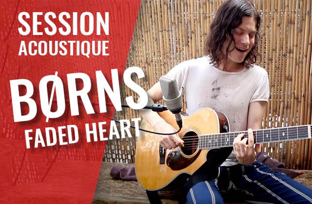BØRNS chante Faded Heart avec ses fans en acoustique