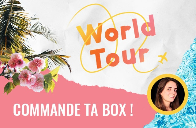 Bientôt sold out : la box « World Tour » par Esther !