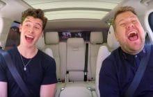 Shawn Mendes embarque pour son Carpool Karaoké et mon cœur est rempli de tendresse