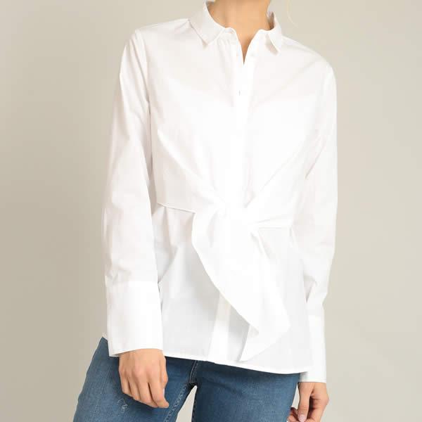 chemise blanche nouée pimkie