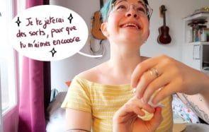 Emma Oscar chante « Pour que tu m'aimes encore » comme si elle était déjà à la Grosse Teuf !