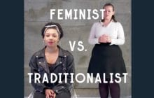 Sauriez-vous garder votre calme face à une antiféministe?