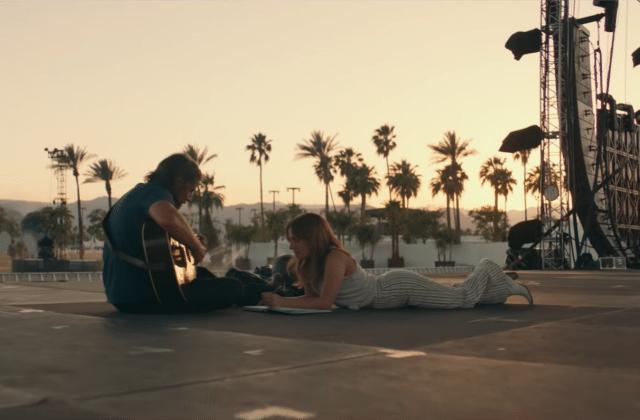 Lady Gaga rencontre Bradley Cooper dans la bande-annonce du film