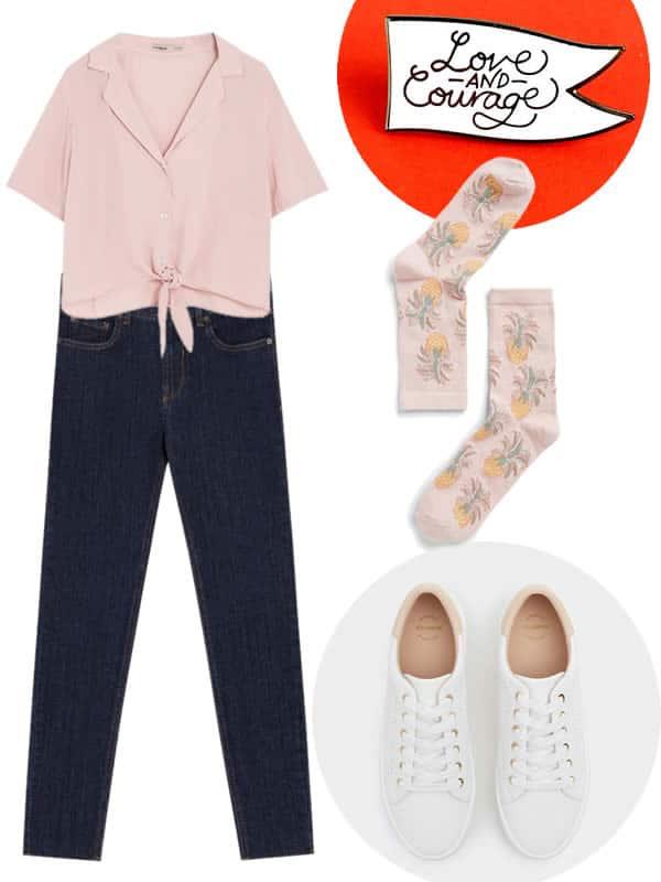 tenue pour oral rose