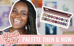 Revue de la palette Then & Now de Too Faced