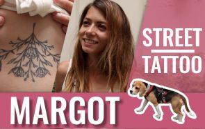 Street Tattoos — Margot Dvg, toujours avec sa chienne Loxen