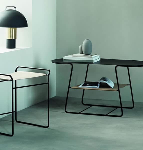 h&m home table basse noire