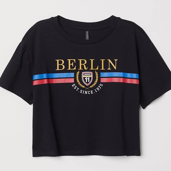 t shirt été pas cher H&M