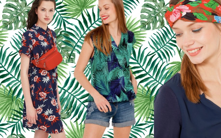 Sélection Shopping «Sous les sunlights des tropiques»