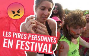 Queen Camille et Louise sont les PIRES personnes en festival