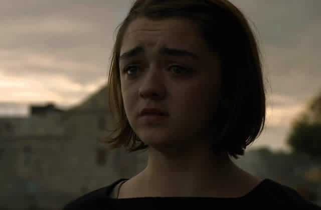 Les adieux sanglants de Maisie Williams — Game of Thrones