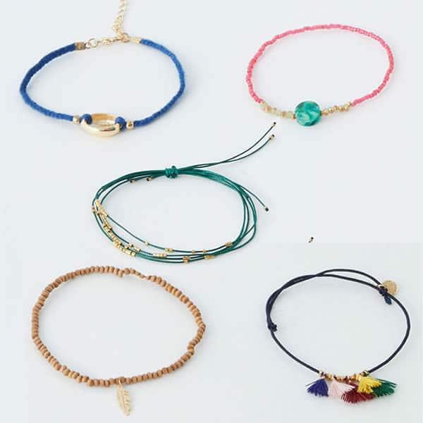 lots de bracelets pull&bear