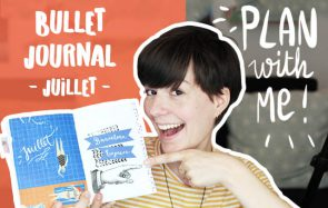 Brise la routine créative pour le Bullet Journal du mois de juillet !