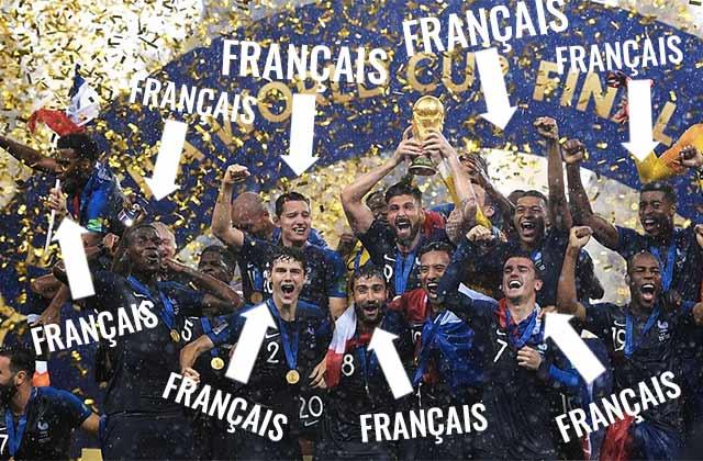 Les Français peuvent être noirs, incroyable mais vrai