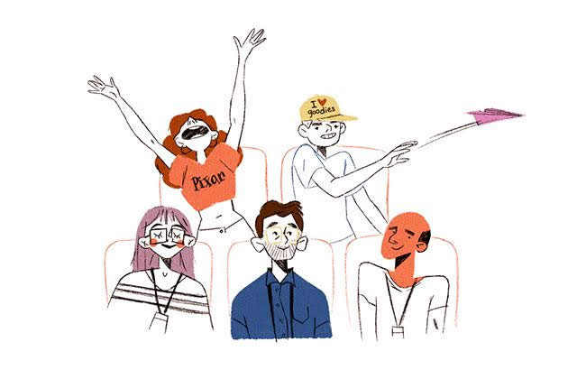 La charmante ambiance du Festival d'Annecy racontée en dessins