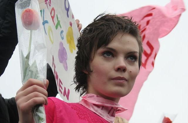 À 31 ans, Oksana Chatchko, co-fondatrice des Femen, s'est suicidée