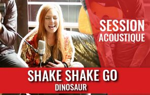 Découvre la session acoustique scintillante de Shake Shake Go!