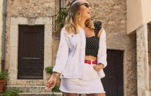2 tenues estivales issues de la collection Stéphanie Durant x Boohoo